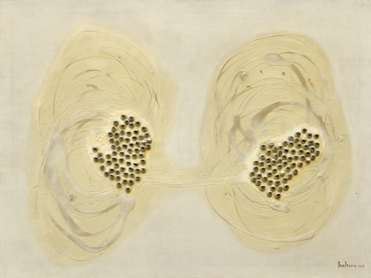 L'Isola degli occhi, 1967, Collection Galleria de Ponte © Photo Gabriele Gaidano © Archivio Carol Rama, Torino.