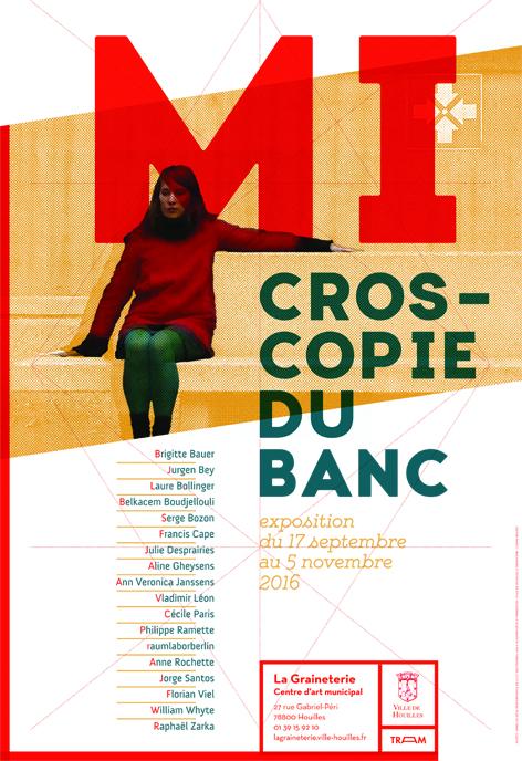 Affiche De Lexposition Microscopie Du Banc Volet 2 La Graineterie Centre Dart Ville Houilles 17 Septembre Au 5 Novembre 2016